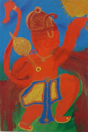 Title – Bal Hanuman - The Child Prodigy - 2014